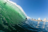 Surfing Waves Water Action — Stock Photo