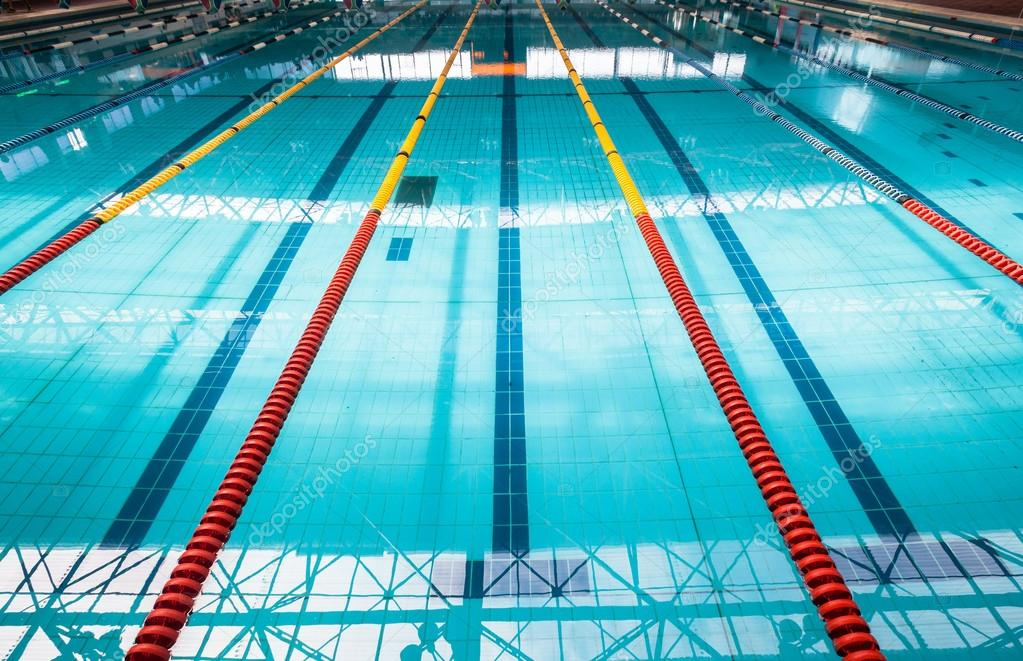 Olympic Swimming Pool Lanes Stock Photo Chrisvanlennepphoto 42427759