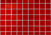 Mosaic Tiles Red Colors Background Design — Stock Photo