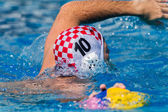 Water-Polo Mens Nationals Action — Stock Photo