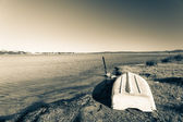 Boat On Shore — Stock Photo