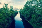 Ireland Scenic Landscape Lough Canal — Zdjęcie stockowe