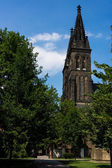 Vysehrad Cathedral — Stock Photo