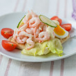 Shrimp Sandwich — Stock Photo