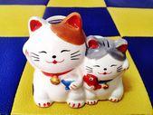 Soška kočka — Stock fotografie