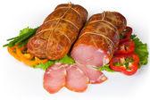 Uncooked jerked pork — Stock Photo