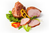 Carne de cerdo ahumada — Foto de Stock
