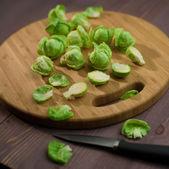 Kompozisyon brüksel lahanası — Stok fotoğraf