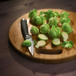 Stock Photo: Brussels Sprout composition