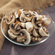 Mushrooms chopped — Stock Photo #38186863