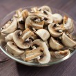 Mushrooms chopped — Stock Photo #38186943
