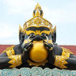 Rahu statue at the temple in Thailand — Stock Photo