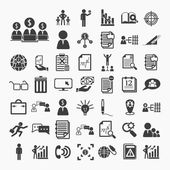 Business icons and Finance icons set.2  on  White paper .Illustr — Stock Vector