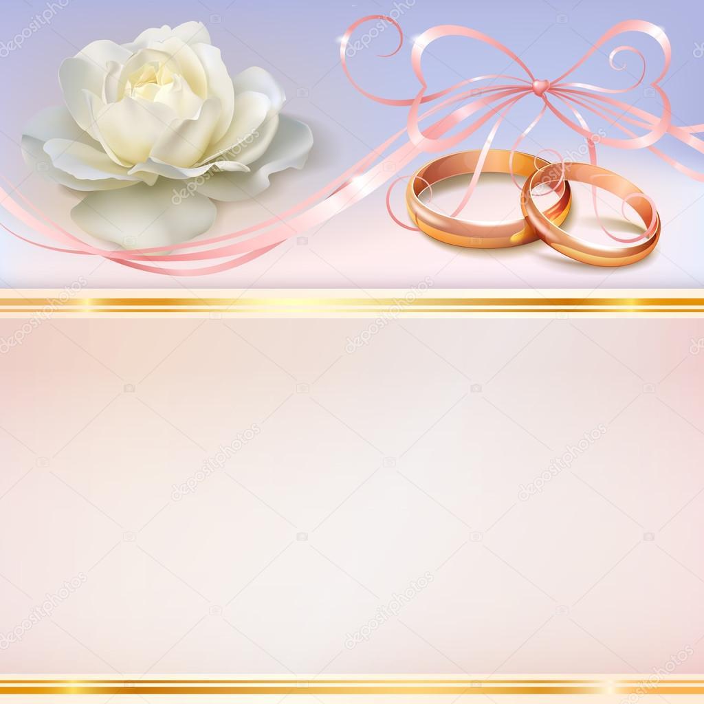 carte d 39 invitation de mariage image vectorielle jokerom. Black Bedroom Furniture Sets. Home Design Ideas