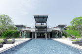 Loft style resort architecture — 图库照片