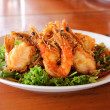 Stock Photo: Fried Shrimp with tamarind sauce 3