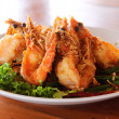 Stock Photo: Fried Shrimp with tamarind sauce 2