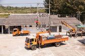 PRACHUAPKIRIKHAN, THAILAND-March 29, 2014:Power engineer perform — Stock Photo