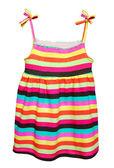 Kid dress.Isolated. — Stock Photo