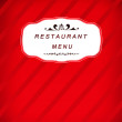 Постер, плакат: Restaurant menu icon