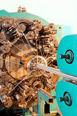 Braidiing machine closeup. — Stock Photo
