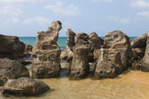 Large stones on the sea — Stockfoto