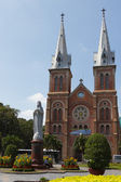 Catholic church in Saigon — Stock Photo