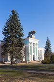 Et endüstrisi, Moskova, vvc'den binanın — Stok fotoğraf