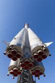 Rocket Vostok front and bottom — Stock Photo
