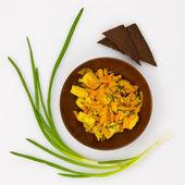 Vegetable salad with tofu — Stockfoto