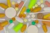 Las tabletas y cápsulas — Foto de Stock