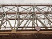 Bridge of steel and concrete — Stock Photo