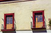 Two Balconies — Stock Photo