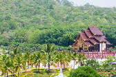 Thai architectural building style — Stock Photo