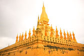Temple in Vientiane (Thad Luang) — Stock Photo