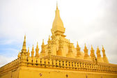 Temple in Vientiane (Thad Luang) — Foto Stock