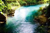 Blue lagoon in Vang Vieng, Laos — Stock Photo