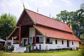 Buddhist temple at Maehongson — Stockfoto