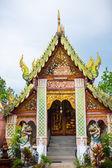 Ancient Buddhist temple in Chaingmai, Thailand — Stockfoto