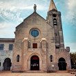 Catholic church in Macau. Penha church. — Stock Photo #39578217