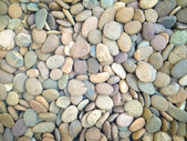 Rounded stone rock texture — Stock Photo