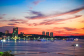 View point of Pattaya City in Twilight time, Thailand — Stock Photo