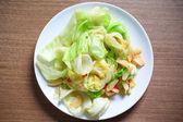 Verdura cavolo deliziosi fry. — Foto Stock