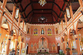 Interior of Cathedral in Chanthaburi province, Thailand. — Foto Stock