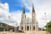 Cathedral in Chanthaburi province, Thailand. — Foto Stock