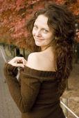Portrait of young beautiful women . — Stock Photo