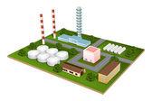 Factory — Stock Vector