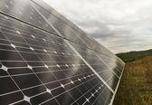 太阳能电池板 — 图库照片