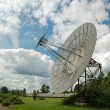 Radio telescopes in Pulkovo Astronomical Observatory — Stock Photo