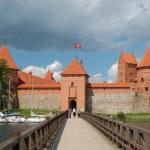 Trakai castle, Lithuania — Stock Photo